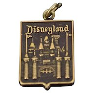 Vintage 14k Solid Yellow Gold Disneyland Charm