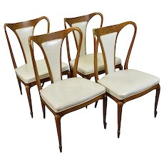 Set 4 Mid-Century Modern Elegant Mastercraft Sculptural Chairs