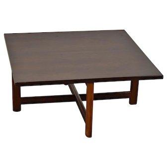 Vintage Scandinavian Danish Modern Rosewood Low End Table Durup