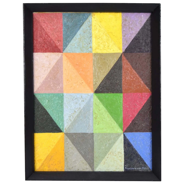 Modern Geometric Abstract Art