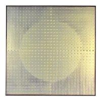 "Kim Chan-Il Chanil ""Dots"" 2004 Oil Painting Contemporary Korean Artist #2"