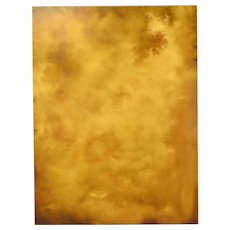 Abstract Sepia Tone CloudScape Painting Skyscape Chicago Artist Kopala #20