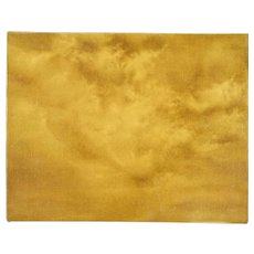 Abstract Sepia-Tone CloudScape Painting Skyscape Chicago Artist Kopala #21