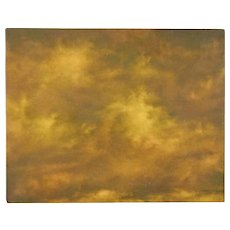 Abstract Sepia Tone CloudScape Painting Skyscape Chicago Artist Kopala #22