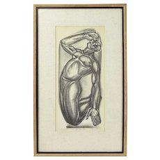 """Not a Spiritual"" Iver Rose WPA Era Social Realism Lithograph African American"