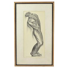 """""""Lord, Oh my Lord"""" Iver Rose WPA Era Social Realism Lithograph African American"""