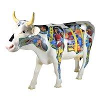 "Ken Kouba ""Industrial Cow"" Life Sized Chicago 1999 ""Cows on Parade"""