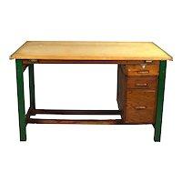 Hamilton Vintage Industrial Steel Drafting Table Tilt Top