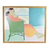 """Pegge Hopper """"Lanikai Afternoon"""" Signed Limited Edition Lithograph"""