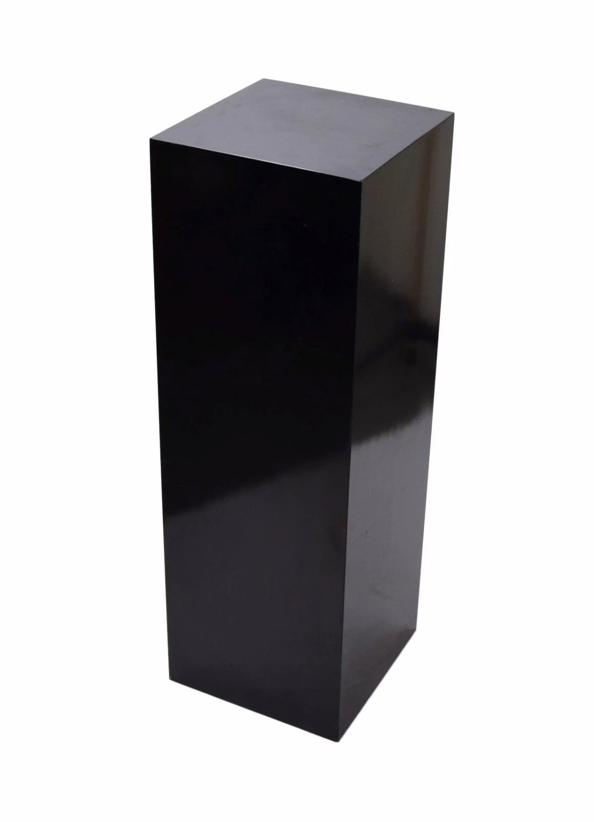 w top base acrylic pedestal display black case and pin