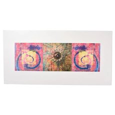"Paul Chojnowski ""Modern Times #7"" 1990's, Limited Edition Lithograph"