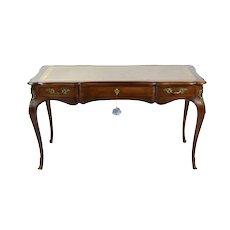 Vintage John Widdicomb French Louis XV Style Bureau Plat Table Writing Desk