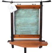 Shibui Japanese Altar Hardwood Sculpture Georgann & Condon Kuhl Maine