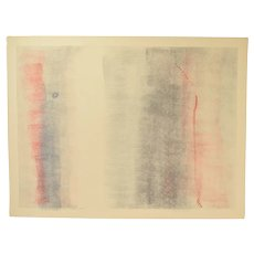 1979 Robert Natkin Abstract Expressionist L/E Lithograph Sgnd 3