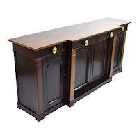 Dunbar Mid Century Modern Neoclassical Revival Breakfront Sideboard Server