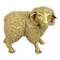 DaNisha Dan Ferguson Bronze Ram Sculpture Limited Edition of 25