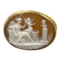 Antique 14K Gold Cameo