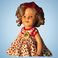 Nice Shirley Temple doll original pin.