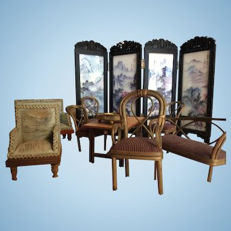 Collection of DollHouse Furniture