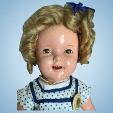 Ideal Shirley Temple doll 1930's