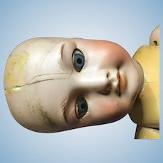 S.F.B.J. 301. Bisque head doll A/F