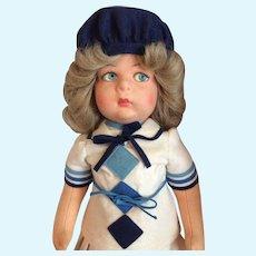 Lenci Susanna 1979. Reissue doll