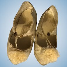 Pretty Jumeau Shoes.