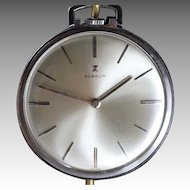 Vintage Gubelin  Swiss Pocket Watch Near Mint Condition
