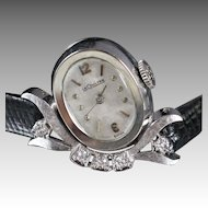 1963 Le Coultre Vintage Diamond Ladies Watch