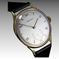 1955  Vintage Zenith 18K Gold  Watch