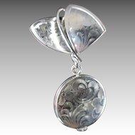 Vintage Hamilton Sterling Silver Pendant