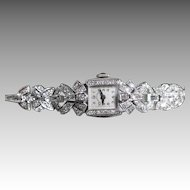 Hamilton Vintage Ladies Diamond Watch Circa 1930's