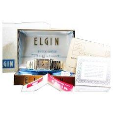 """1953 Elgin """"Edgewater"""" Men's Watch"""