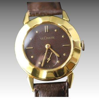 1951 LeCoultre Fancy Bezel Men's Vintage Watch