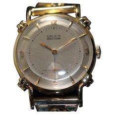 Gruen 14k Solid Gold Vintage Men's Watch