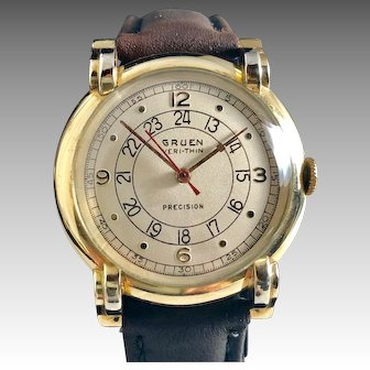 Gruen Pan-Am Pilot Men's Watch 1943