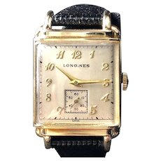 1948 Lonrgines Presidential 14K Gold Watch