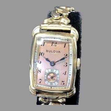 1942 Bulova Radio City Vintage Watch