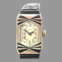 Elgin Art Deco Parisienne  Lanvin 104 Watch