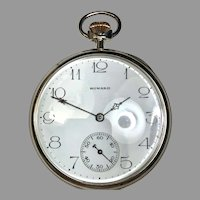 1913 Antique 14K solid Gold E. Howard Pocket Watch 16S series 7