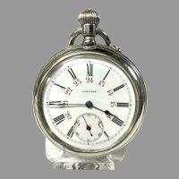 Longines-1915  Military Antique Pocket Watch with WW1 Watch Strap