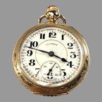 Illinois Bunn Special Railroad 21 Jewel Pocket Watch