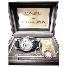 "Longines ULTRA-CHRON (""High Beat"") Automatic 1960's Men's watch."