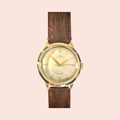 1957  Lord Elgin USA 14K Gold 21 Jewel Vintage Watch