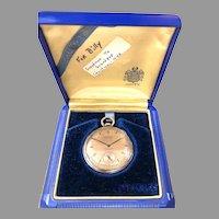 1942 Gruen VERI-THIN Pocket Watch