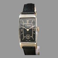 1940 LeCoulter Art Deco Watch