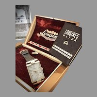 1943 Longines Dress Watch with Box and Papers