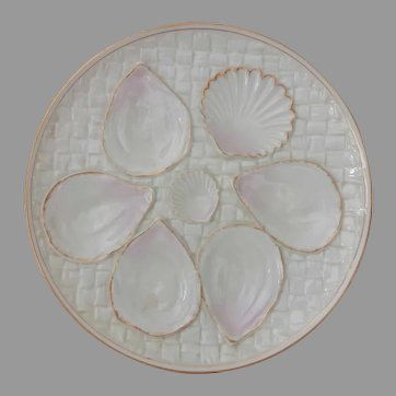 Royal Worcester Oyster Plate