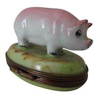 Old Limoges Porcelain Trinket Box