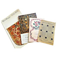 Antique Woven Embroidered and Colonial Fabrics